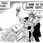 Knife-edge Election
