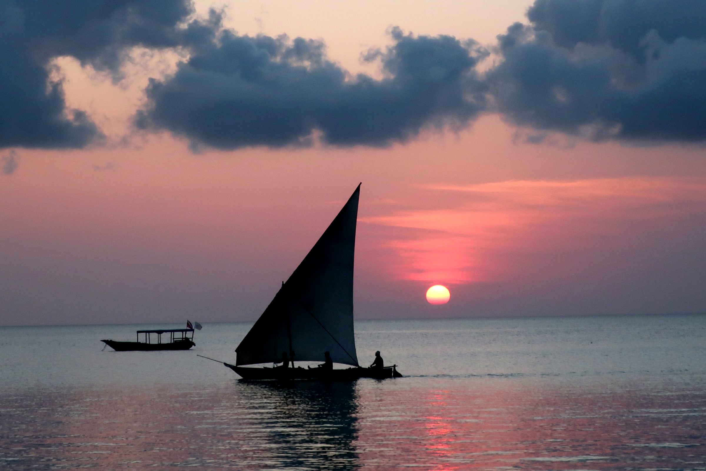 Photo of Zanzibar sunset by Camilla Frederiksen on Unsplash