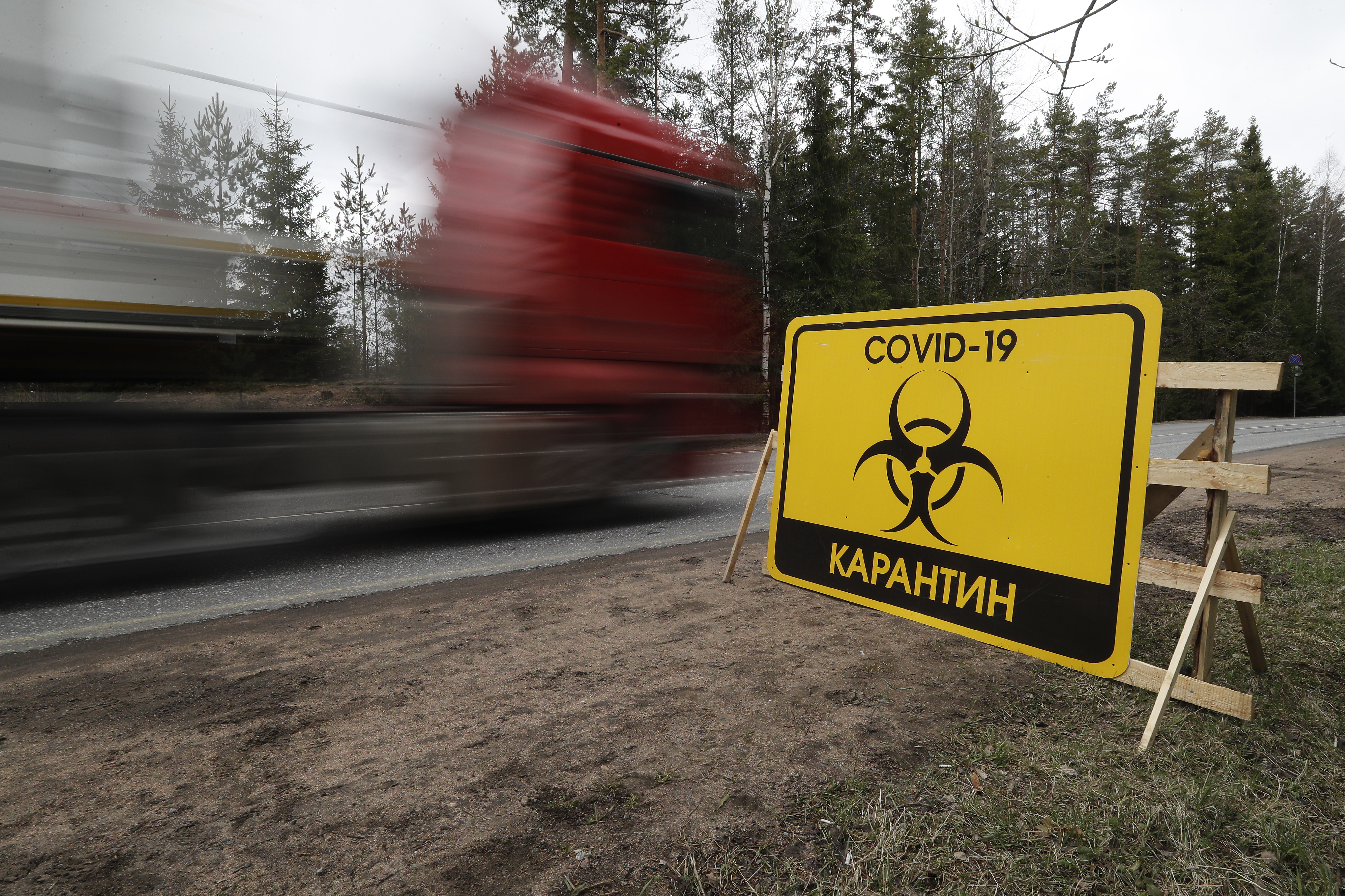 Russia's coronavirus cases hit new high, Moscow warns of clampdown
